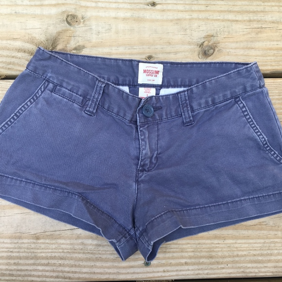 Mossimo Supply Co. Pants - Navy Blue Low Rise Shorts